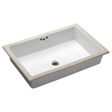 ladena sink home depot kohler ladena 23 1 4 quot undermount bathroom sink in white