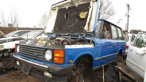 how cars engines work 1990 land rover range rover auto manual junkyard find 1990 range rover
