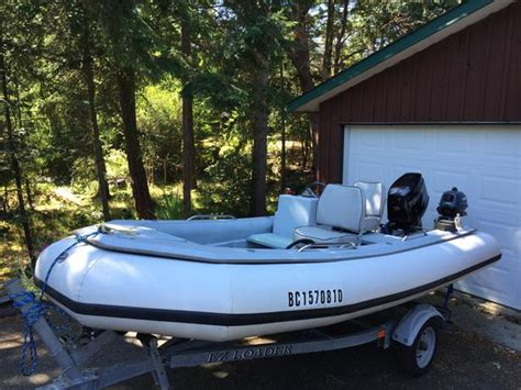 Inflatable Boats Vernon Bc by Rendova 14 Ft Rigid Hull Inflatable Lantzville Nanaimo