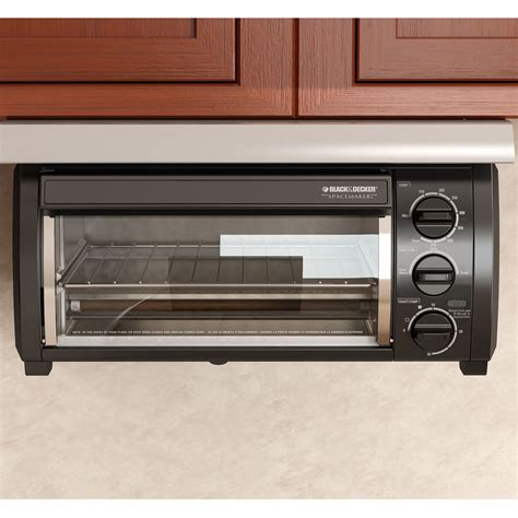 Under Cabinet Toaster Oven Find Space Savers And Deals At