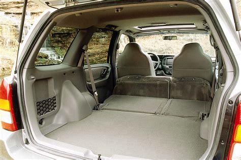 mazda tribute 2002 interior 2001 11 mazda tribute consumer guide auto