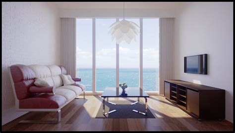 4d Home Interior :  Lighting & Rendering