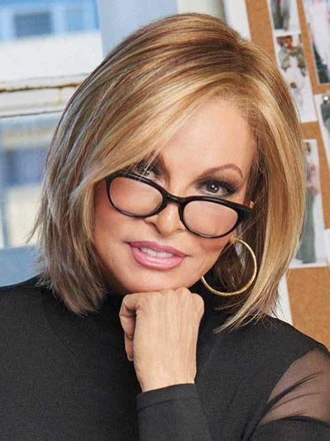 blonde bob hairstyle  women    glasses