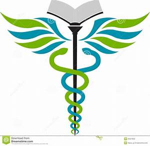Hospital Education Logo Stock Photography - Image: 25027622