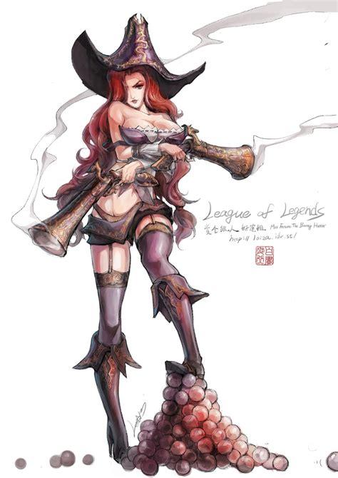 Miss Fortune League Of Legends Fanart Artoflol
