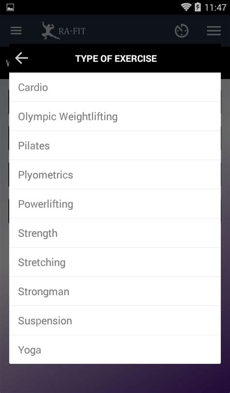 your complete fitness app to track workouts assessment