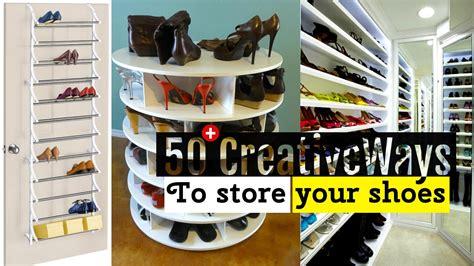 storage organizer 50 creative shoe storage ideas