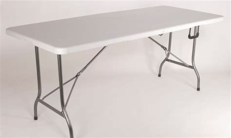 sur la table groupon table pliante 180 cm groupon shopping