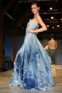 blue jean wedding 39 s daily wedding dress exhibition in helsinki