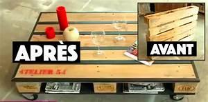 Fabriquer Une Table Basse En Palette : tuto comment fabriquer une table basse avec une palette des id es ~ Melissatoandfro.com Idées de Décoration