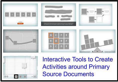 interactive tools primary documents source excellent create technology activites around tool teaching educatorstechnology educational
