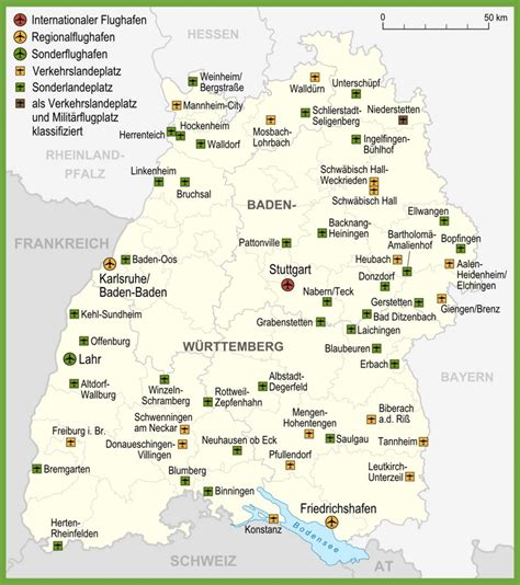 The airport itself is part of baden airpark, a business park with numerous other tenants. Map of airports in Baden-Württemberg