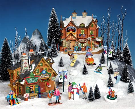 lemax christmas villages lemax vail somehow i want to add this to my lemax caddington lemax vail