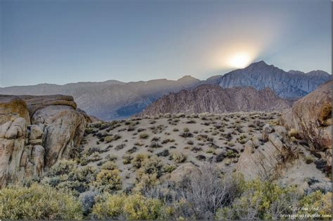 Chasing The Light Alabama Hills Lone Pine California
