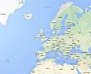 Europe : Google Earth and Google Maps
