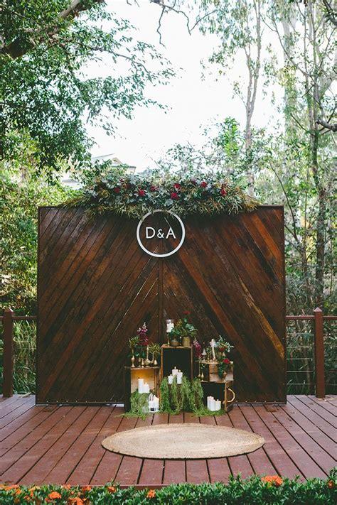 Alicia & Dave's Candlelit Garden Banquet Wedding Wedding