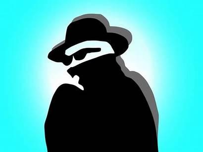 Criminal Criminals Vector Detective Masked Portrait Clipart