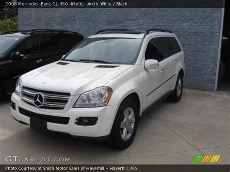 Finished in black over black leather. Arctic White - 2008 Mercedes-Benz GL 450 4Matic - Black ...