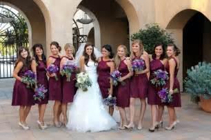 wine color bridesmaid dresses wine colored bridesmaids dresses all dresses