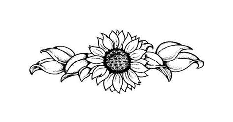 sunflower tattoo black  white    cute      neck