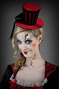 Halloween Make Up Puppe : halloween trend broken doll look puppen make up kost me ~ Frokenaadalensverden.com Haus und Dekorationen
