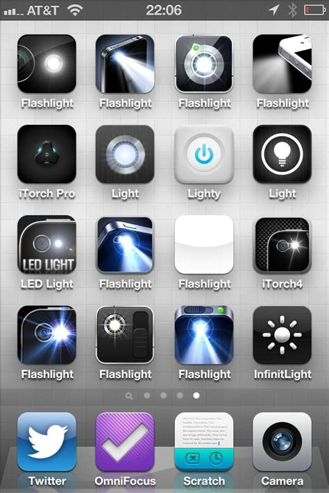 flashlight app for iphone finding a flashlight app for the iphone the