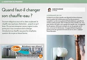 Quand Changer Anode Chauffe Eau : quand faut il changer son chauffe eau la presse ~ Melissatoandfro.com Idées de Décoration