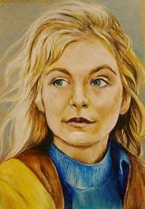 portraits by olkowska drawings