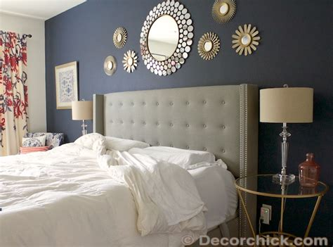 navy and grey bedroom why and how we are sleeping better decorchick