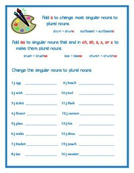 plural nouns adding   es  form  plural noun
