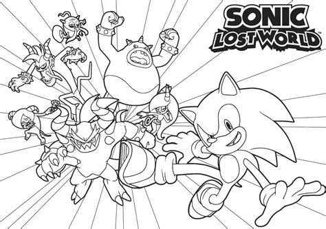 46 Dessins De Coloriage Sonic Boom Imprimer