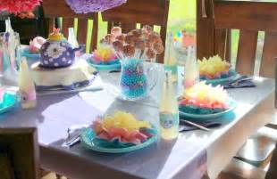 Little Girl Tea Birthday Party
