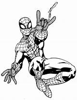 Coloring Superhero Pages Colouring Printable Spider Spiderman Marvel Comic Face Drawing Superheroes Cliparts Template Sheets Clipart Info Adult Books Boys sketch template