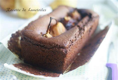fondant chocolat poires amour de cuisine