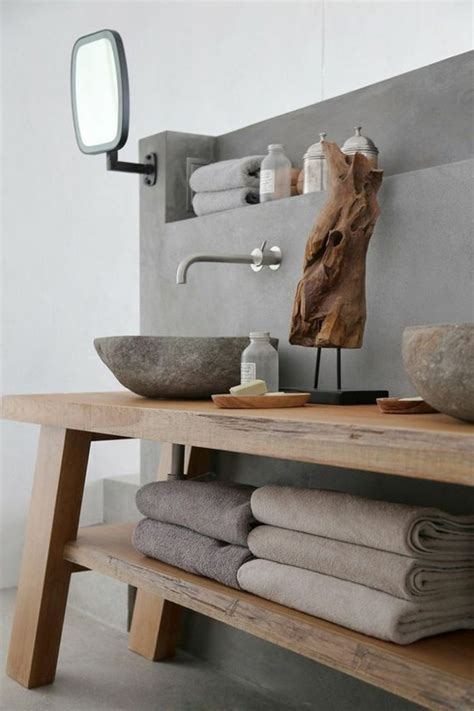 le lavabo en pierre en    des astuces deco