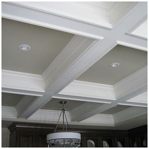 White Ceiling Beams Decorative - decorative ceiling ideas for every style of home