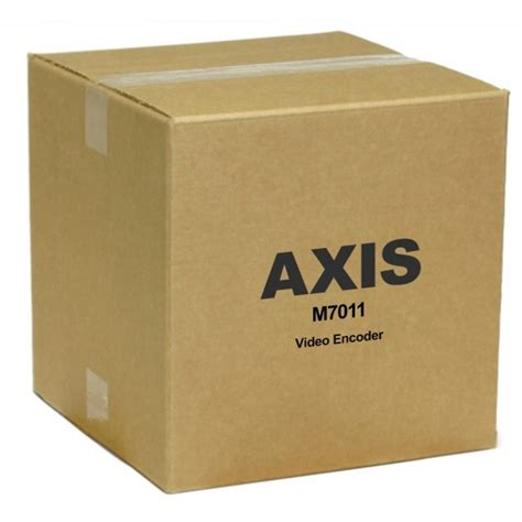 axis     channel video encoder