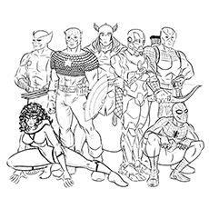 coloriage super heros  colorier dessin  imprimer