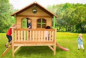 Grande Cabane Enfant : grande cabane enfant en bois sur pilotis stef de axi ~ Melissatoandfro.com Idées de Décoration