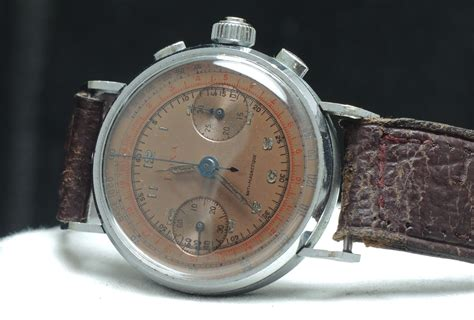 investment grade vintage doxa  pusher chronograph