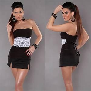 Vetement Femme Original Tendance : vetement tendance top bandeau fashion couleur noir ~ Melissatoandfro.com Idées de Décoration
