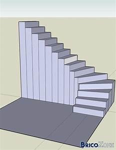 Escalier 3 4 Tournant : balancement d 39 un escalier 1 4 tournant ~ Dailycaller-alerts.com Idées de Décoration