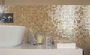 la mosaique dans la salle de bains inspiration bain With salle de bain design avec bandes décoratives pour auto
