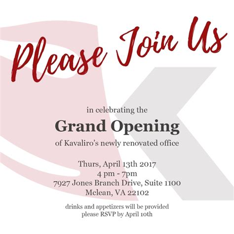 office opening invite  images grand opening