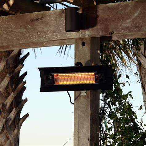 sense 22 inch 1500w electric infrared patio heater