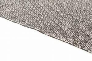 Tapis De Chanvre : tapis chanvre puebla noir gris ~ Dode.kayakingforconservation.com Idées de Décoration