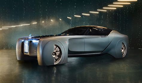 Rolls-royce Vision Next 100 Debut In United States