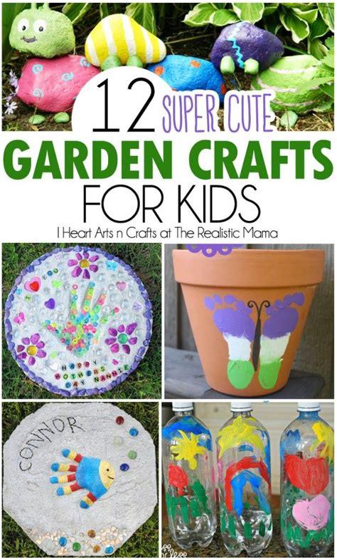 12 Super Cute Garden Crafts For Kids  Gardens, Summer And