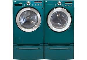 LG Blue Washer and Dryer