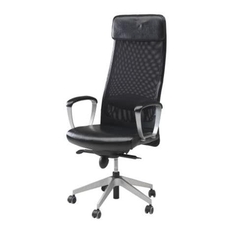 chaises pivotantes markus chaise pivotante glose noir ikea
